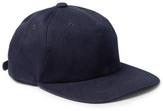 Blue Blue Japan Cotton-Blend Twill Baseball Cap - Indigo