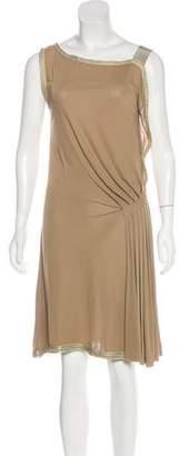 Alberta Ferretti Asymmetrical Knee-Length Dress