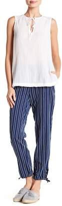 Joe Fresh Stripe Ankle Pants