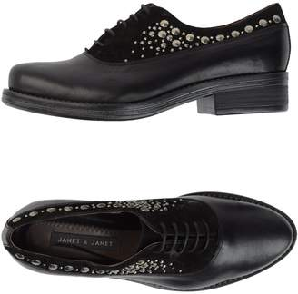 Janet & Janet Lace-up shoes - Item 44453256FW