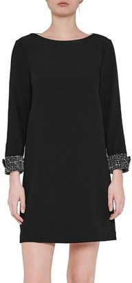 French Connection Crystal Shot Shift Dress $188 thestylecure.com