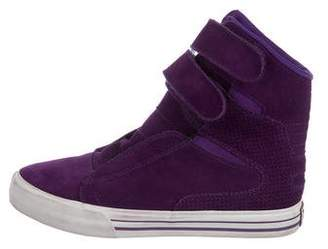 Supra Suede High-Top Sneakers