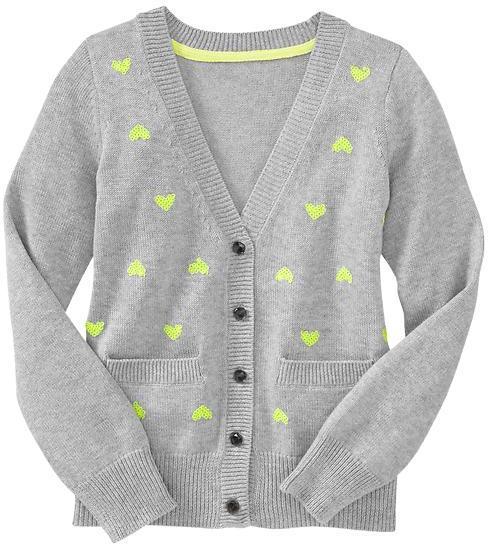 Gap Sequin-embellished cardigan