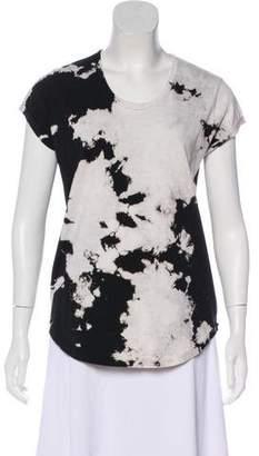 Zadig & Voltaire Short Sleeve Acid Wash T-Shirt