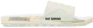 Adidas By Raf Simons textured detail slides