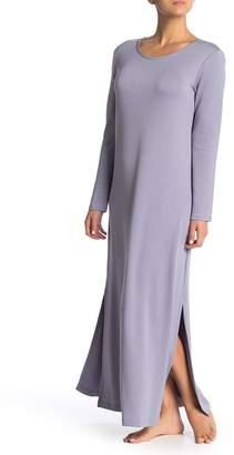 Natori Zen Long Sleeve Knit Gown