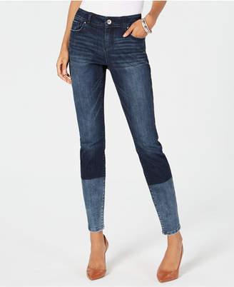 INC International Concepts I.n.c. Dip-Dye Skinny Jeans, Created for Macy's