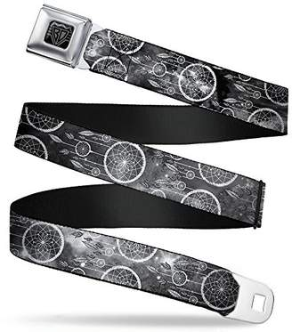 BUCKLE-DOWN INC. Unisex-Adults Buckle-Down Seatbelt Belt Dream Catcher Regular