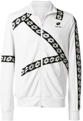 Damir Doma x Lotto logo zipped sweatshirt