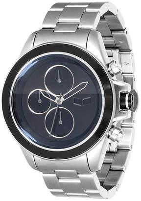 """Stainless Steel Minimalist Chrono Watch """"ZR2"""""""