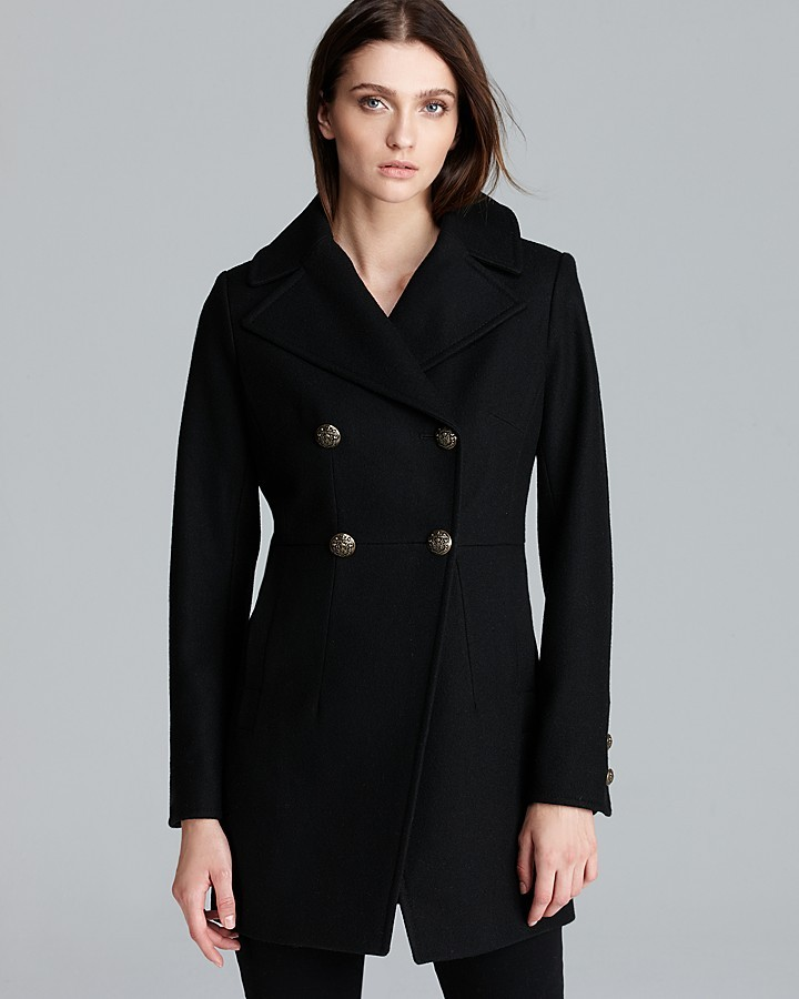 DKNY Coat - Taylor Double Breasted Military