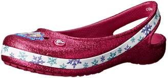 Crocs Genna II Frozen Girls Slingback Flat