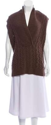 Ralph Lauren Wool Sleeveless Top Brown Wool Sleeveless Top