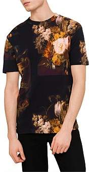 McQ Dropped Shoulder Tee W/ Painting Print
