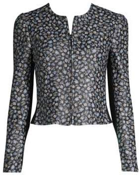 Rebecca Taylor Zelma Leather Jacket