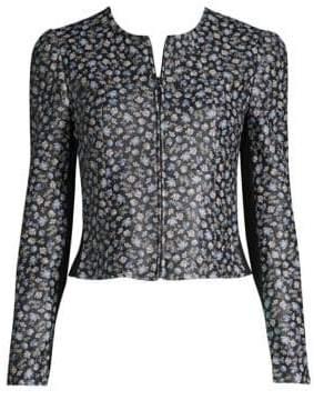 Rebecca Taylor Zelma Leather Jacket