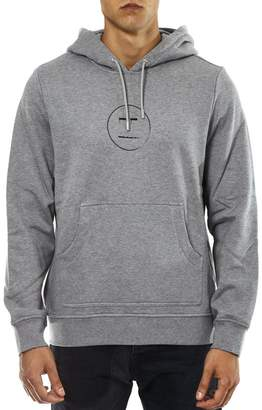 Diesel Black Gold Grey Cotton Hooded Sweatshirt