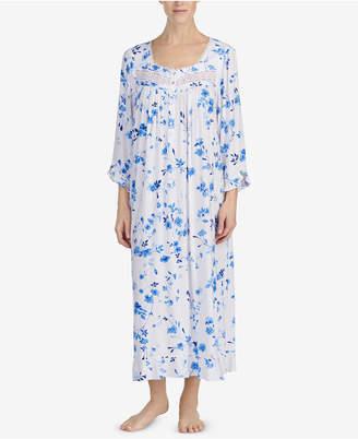 Eileen West Lace-Trim Ballet Nightgown