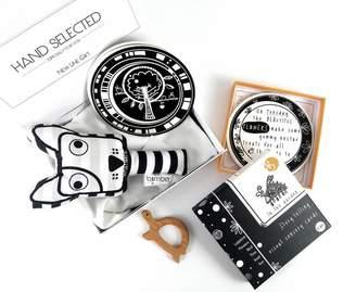 New Line Gift Monochrome Soft Sensory Baby Gift Set