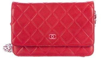 Chanel Lambskin Wallet On Chain