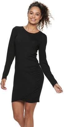 Love, Fire Love Fire Juniors' Ruched Bodycon Dress