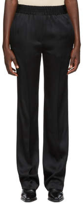 Haider Ackermann Black Shiny Trousers