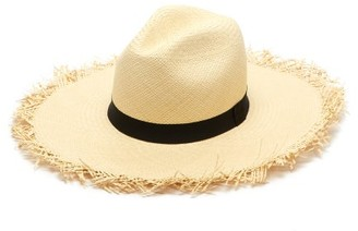 Greenpacha Montauk Toquilla Straw Hat - Womens - Beige