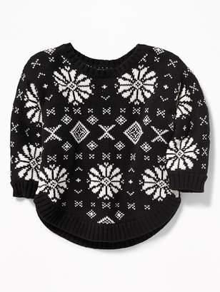 Old Navy Fair Isle Dolman-Sleeve Sweater for Baby