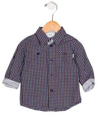HUGO BOSS Boss by Boys' Plaid Button-Up Shirt