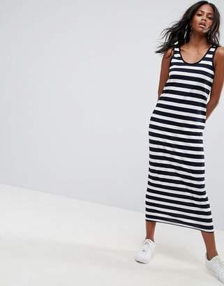 Asos Design Ultimate Maxi Singlet Dress in Stripe