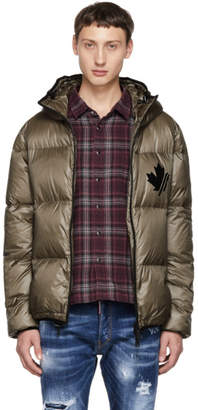 DSQUARED2 Grey Puffer Jacket