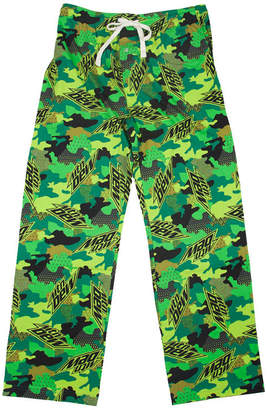 Novelty Licensed Mountain Dew Men's Jersey Pajama Pants