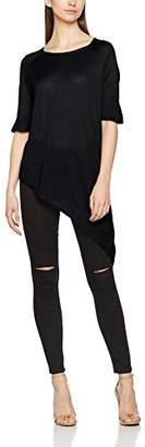 Vero Moda Women's Vmsunset Saga 2/4 Oversize Blouse T-Shirt,(Manufacturer Size: M)