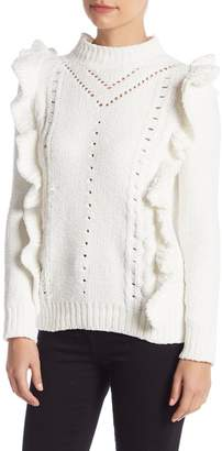 Do & Be Do + Be Ruffled Trimmed Sweater