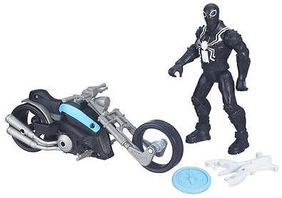 Marvel Ultimate Spider-Man Vs. The Sinister Six: Agent Venom With Symbiote Cycle