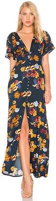 Cleobella Valentina Maxi Dress in Navy $165 thestylecure.com