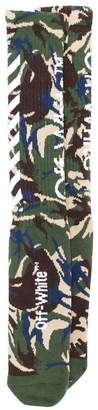 Off-White camouflage socks