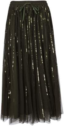 P.A.R.O.S.H. Sequined Tulle Skirt