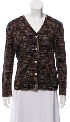 Missoni Wool Blended Knitted Cardigan