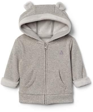 Gap Cozy zip bear hoodie