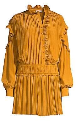 Joie Women's Jazelle Pleated Mini Dress