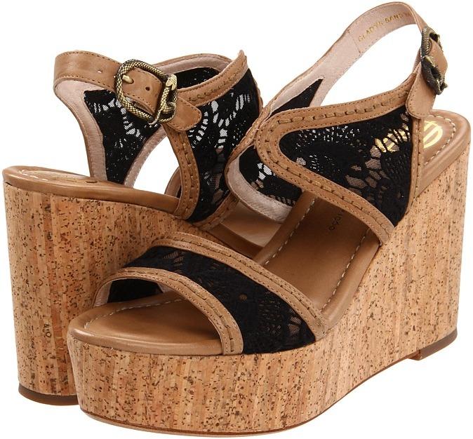House Of Harlow Gladys (Sand/Black) - Footwear