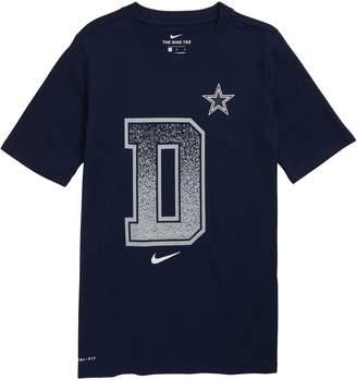 Nike NFL Logo Dallas Cowboys Dri-FIT Graphic T-Shirt