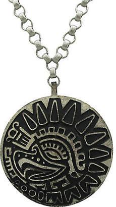 One Kings Lane Vintage Trifari Mayan-Style Pendant on Chain