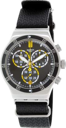 Swatch Men's Irony YVS422 Resin Swiss Quartz Watch