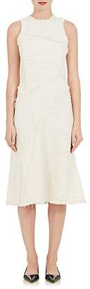 Proenza Schouler Women's Cotton-Blend Tweed Sleeveless Fit & Flare Dress