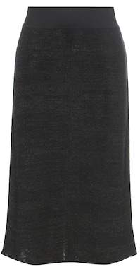Isabel Marant Calypso linen and wool-blend skirt