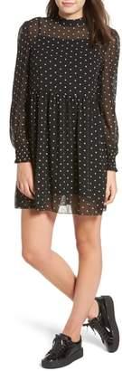 LIRA Sweeter Days Embroidered Chiffon Dress