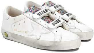 Golden Goose Kids Old School Superstar sneakers