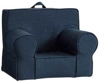Pottery Barn Kids Linen Navy My First Anywhere Chair® Slipcover Only